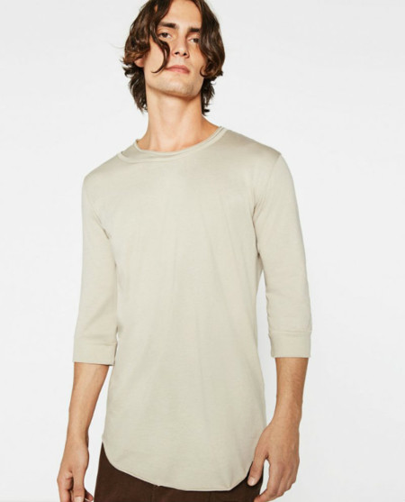 Zara Man Streetwise Collection Mock Layer Top 800x991