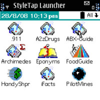 StyleTap for S60, emulador de Palm OS