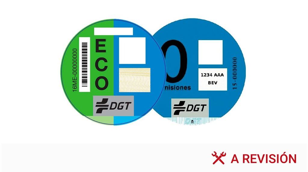 Dónde se puede conseguir la etiqueta medioambiental de la DGT y cuál es su precio