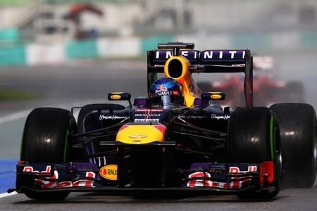 Sebastian Vettel logra una trabajada victoria tras un apasionante duelo con Mark Webber