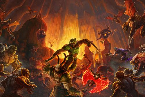 Hemos jugado a DOOM Eternal, el FPS más bestia y violento de este año será también uno de los que más vamos a gozar machacando demonios