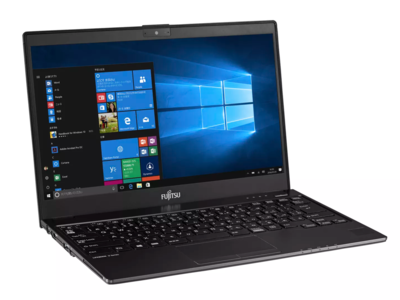 Este portátil Fujitsu es el más ligero del mercado y no por ello le faltan puertos