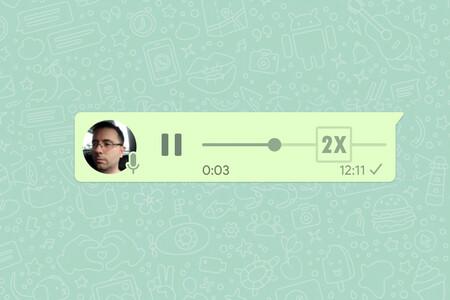 Próximamente en WhatsApp: reproducir notas de voz a mayor velocidad