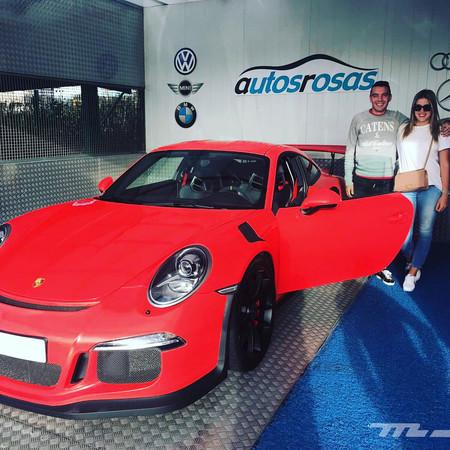Iago Aspas Porsche 911 GT3 RS