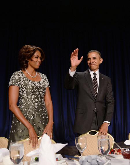 National Prayer Breakfast Michelle Obama look