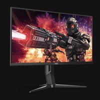 AOC U28G2XU: monitor gaming con resolución 4K, 28 pulgadas, 144 Hz y compatible con gráficas AMD y Nvidia