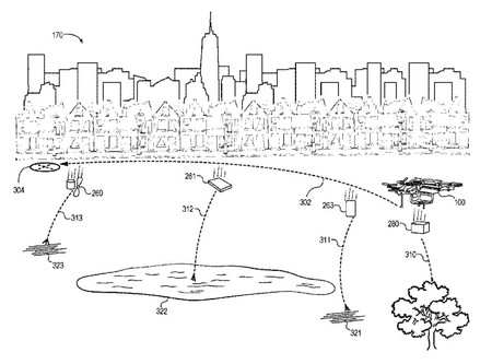 Imagen Patente Dron Autodestruible