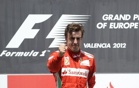 Alonso Valencia F1 2012