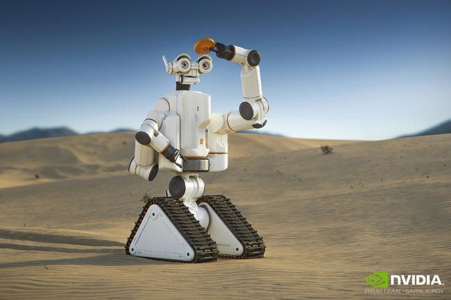 Así es como Nvidia quiere ser el cerebro con inteligencia artificial de los robots autónomos del presente