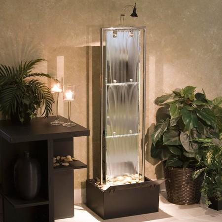 Stunning Indoor Wall Waterfall Designs Ideas36