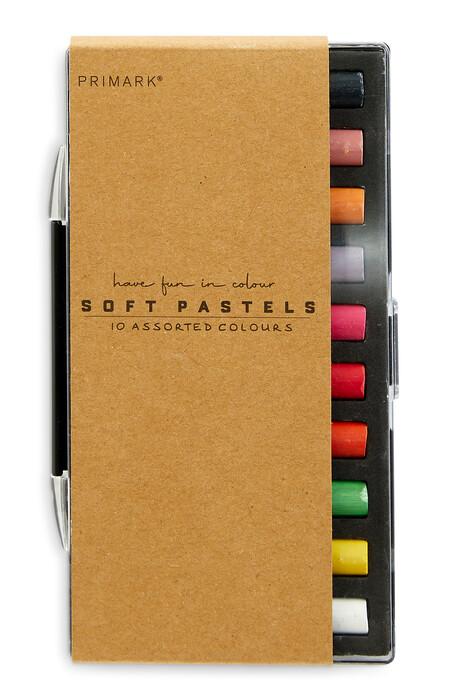 Artist Soft Pastels 10 Pack Gbp2 Eur2 50