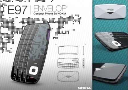 Imagen de la semana: Nokia E97 Envelope