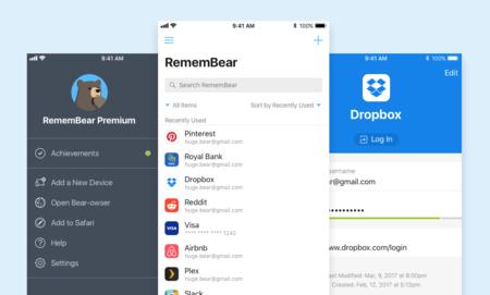 RememBear, el nuevo gestor de contraseñas para iOS de TunnelBear