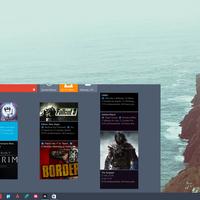 Cómo añadir baldosas interactivas de tus juegos de Steam al menú de inicio en Windows 10