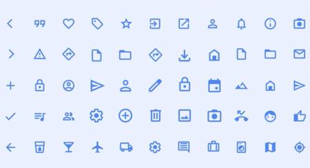 Nuevos Icons Material Design