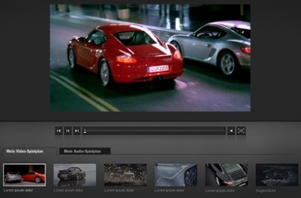 Porsche Web-Cinema
