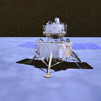 China llegó a la Luna y tomó muestras de la superficie: las rocas lunares ya están en órbita listas para llegar a la Tierra