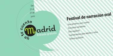 Yo te cuento, festival de cuentacuentos este fin de semana en Madrid