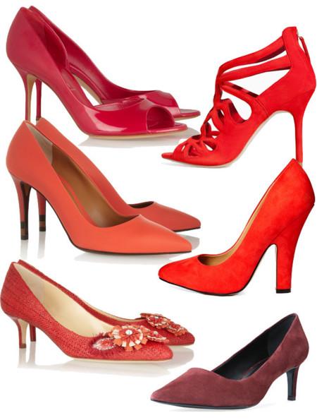 Zapatos rojo primavera 2014