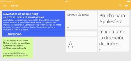 Evernote, Google Keep, OneNote... las mejores apps para compartir notas en iOS