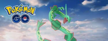 Pokémon GO: cómo conseguir a Rayquaza en el Desafío de Colección en el evento Celebración de la Región de Hoenn