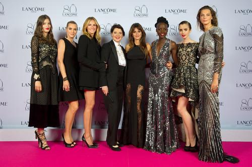 Lancôme celebra 80 años de belleza con todas sus embajadoras