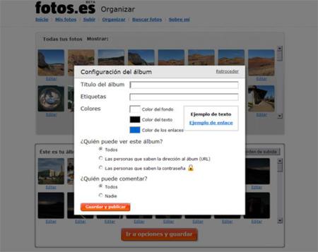 Fotos.es, nueva opción para subir y compartir imágenes