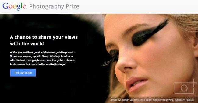 google photography prize