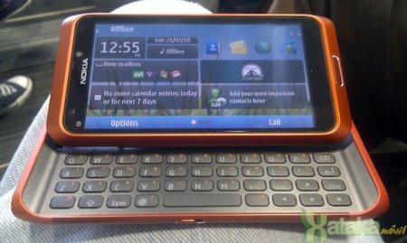 Nokia E7 con Symbian^3