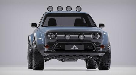 La Alpha WOLF es una pick-up eléctrica retro en frasco pequeño que promete hasta 443 km de autonomía