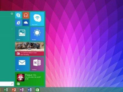 El menú Inicio llega al Surface RT gracias a la Update 3 de Windows RT 8.1