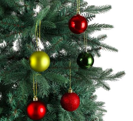 Set 30 Bolas Multicolor Y 3 Acabados Navidad El Corte Ingles