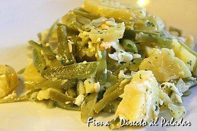 Receta de judías verdes en vinagreta