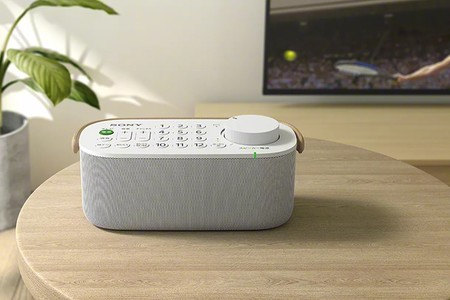 Sony presenta el SRS-LSR200, un dispositivo que integra el mando a distancia para la tele en un altavoz inalámbrico portátil