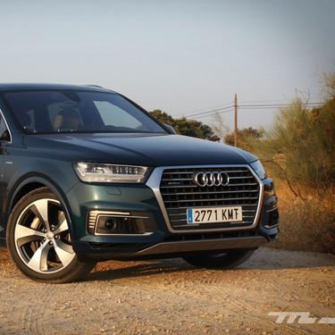 Probamos el Audi Q7 e-tron, un SUV híbrido de 373 CV, bien visto por su etiqueta Cero a pesar de su motor diésel