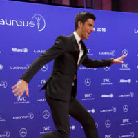 El esmoquin con zapatillas se impone en los Premios Laureus del Deporte