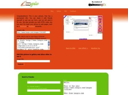 Loogix, crea tus gifs animados en simples pasos