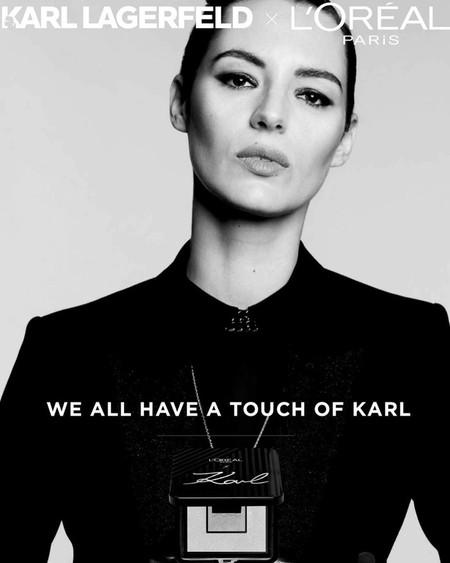 Loreal Paris Karl Lagerfeld Makeup Campaign04