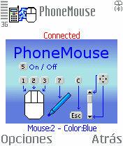Phone Mouse, ¡ hay un ratón en tu movil !