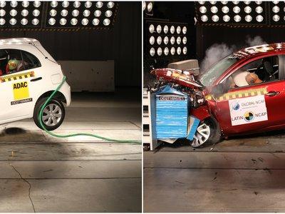 Latin NCAP: Los Nissan Versa y March fabricados en México no son tan seguros como los de Brasil