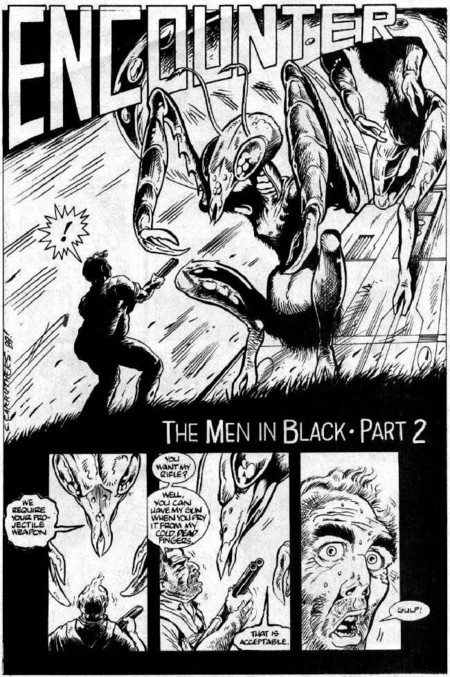 Men in Black comic