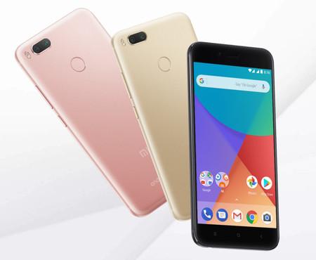 Xiaomi Mi A1, en negro, rosa o dorado, desde sólo 148 euros y envío gratis