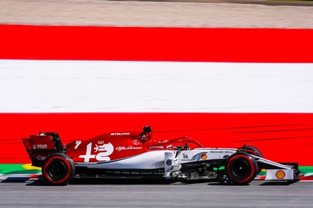 Raikkonen Austria F1 2019