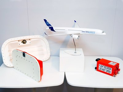 Airbus ya tiene listas las nuevas cajas negras con sistema de eyección, GPS y mayor capacidad de almacenamiento