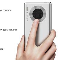 """""""Pantalla"""" táctil en el anillo alrededor de la cámara: la más reciente idea de Huawei para sus próximos smartphones"""