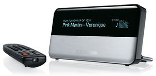 Logitech Squeezebox con soporte de MP3Tunes Music Locker