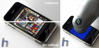 Calibra la pantalla de tu iPhone