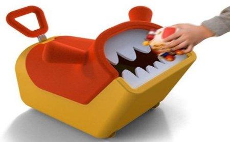 Toy Guardian, divertido diseño conceptual para guardar juguetes