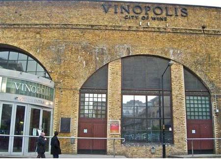 Vinopolis: la meca del vino en Londres