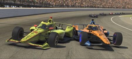 El campeón de la IndyCar no pudo soportar que un novato de la Fórmula 1 le ganase: polémica virtual en Indianápolis